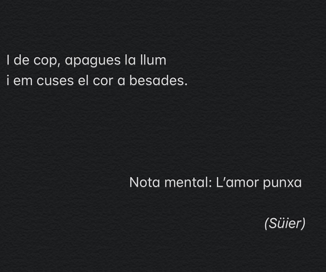 L'amor punxa